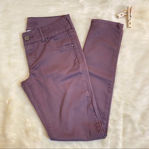 Maurices purple Jeggings size Small Regular